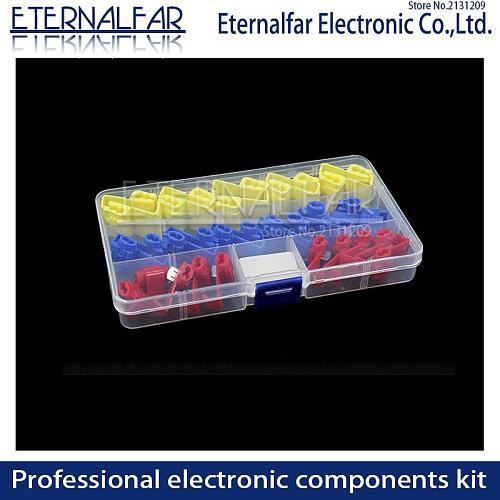 Transparent Storage Screw Case Storage DIY Parts Box Electronic Component Transparent Wire Terminal Switch Fuse Connector Boxes