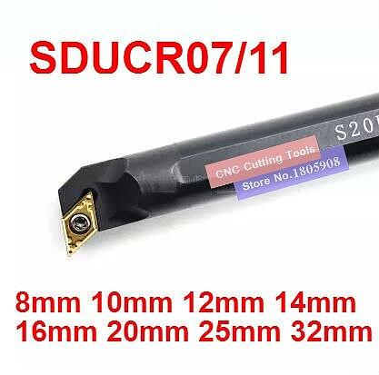 1PCS S08K-SDUCR07/S10K-SDUCR07/S12M-SDUCR07/S16Q-SDUCR011/S20R-SDUCR11/S25S-SDUCR11/S32T-SDUCR11 SDUCL07/11 Turning tools