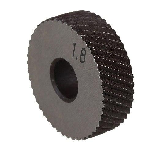 1 Pair 1.8mm Gear Hob Wheel Knurled Wheel Knife Textured Knurled Lathe Embossing wheel Machine Tools Accessories