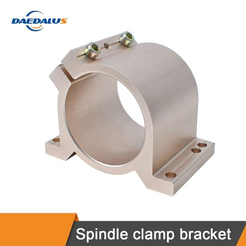 CNC spindle fixture 65MM / 80MM mounting bracket CNC spindle motor fixture 0.8KW 1.5KW milling cutter engraving machine