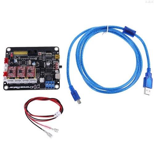 CNC 3018/2418/1610 GRBL 1.1 3 Axis Stepper Motor 2 Y USB Driver Controller Board l29k