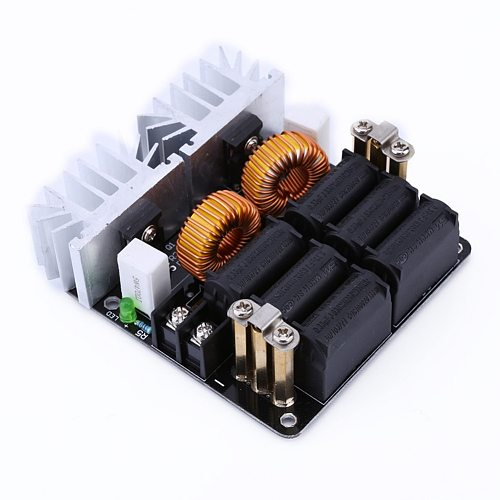 1000W ZVS Stable Electronic Module Plate Safe Flyback Driver Professional Iron Coil Low Voltage Induction Heating Board Durable