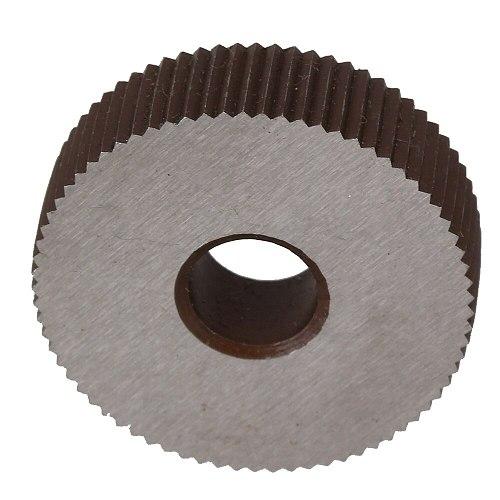 2Pcs Gear Hob Strength 0.4mm Wheel knurlStraight grain HSS Wheel Knife Knurled Machine Tools Accessories Lathe Embossing Wheel