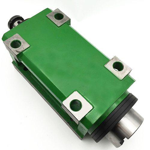 BT40 Chuck 3000W 3KW 4hp Power Head Cutting/Boring/Milling Machine Lathe Tool Spindle Head Max.3000-6000RPM High Speed