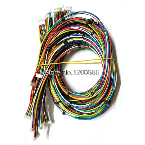 1M/1.5M custom cables 0.049  51021 Series 1.25MM 1.25 Female HOUSING 3POS 1.25MM 1007 28 AWG JST 1.25