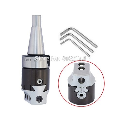 NT30 M12*1.75P Adapter+ F1 12 50mm Boring Head Boring CNC Milling Machine Tool Hot Sale Wholesale