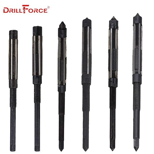1PC Adjustable Hand Reamer HSS Size Range Alloy Steel Reamer Hand Reamer Machine Cutting Tool(6.25/6.75/7.25/7.75/8.5/9.25/10mm)