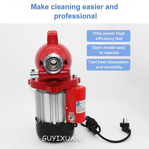 Sewer sewer artifact kitchen toilet toilet blockage dredge pipe dredging machine electric professional tools household