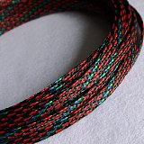 12meter Cable Sleeves 8mm Cotton yarn Braid Wire Protecting PP+ PET Nylon Cable Sleeve wire mesh shock for cable sets
