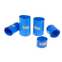Lithium Battery Heat Shrink Tube Tubing Li-ion Wrap Cover Skin PVC Shrinkable Film Tape Sleeves Accessories 65mm 75mm 85mm 18650