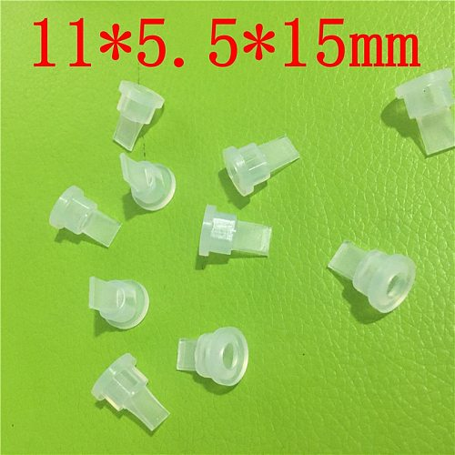 10PCS  11 * 5.5 * 15MM Low pressure duckbill valve Silicone material safety and environmental protection Check valve 11*5.5*15