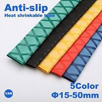 1m Heat Shrink Tube Fishing Waterproof Anti-skid Wraps Fishing Rod Badminton Racket Sleeve PVC Tube Grip Cable Sleeve