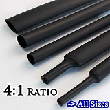4/6/8/12/16/18/20/24/32/40/52MM 4:1 ratio Heat Shrink Tube with Glue Dual Wall Adhesive Tubing Sleeve Wrap Wire Cable kit