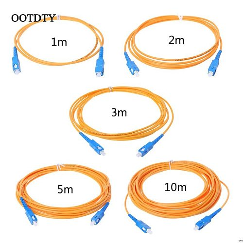 SC/UPC-SC/UPC-SM 3mm Fiber Optic Jumper Cable Single Mode Extension Patch Cord