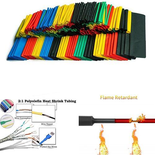 70pcs/150pcs/164pcs/328pcs/530pcs Set Polyolefin Shrinking Assorted Heat Shrink Tube Wire Cable Insulated Sleeving Tubing Set 2: