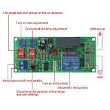 Cycle Delay Timing Timer Relay Switch Turn ON/OFF Module AC 110V 120V 220V 230V Drop Shipping