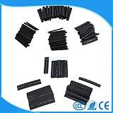 127pcs 2:1 7 Sizes Assortment Polyolefin Halogen-Free Heat Shrink Tubing shrinkable Tube Sleeving Wire Cable Kit