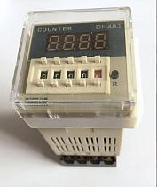 DH48J DH48J-8 Electronic preset counters acyclic display counters 1-999900 relay 8PIN with base DC12V/24V/36V AC110V/220V/380V