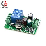 DC 12V 220V 10A 433MHz 1CH 1 Channel Wireless RF Remote Transmitter Receiver Relay Control for Smart Home