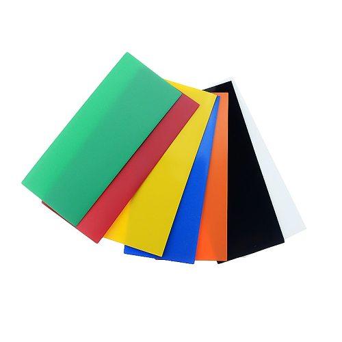 50pcs 18650 Battery Wrap PVC Heat Shrink Tubing Precut for Battery Film Tape Battery Cover Shrinking Tube