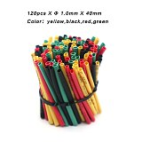 60Pcs/Pack Heat Shrink Tube Adhesive Cable Protective Sheath Thermoretractable Gaine Electronic Kits Adiabatic Protector Wire