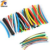 140pcs/lot Heat Shrink Tubing 14m 2:1 Color Tube Car Cable Sleeving Assortment Wrap Wire Kit with Polyolefin Tub