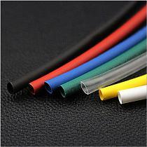 1 1.5 2 2.5 3 3.5 4 4.5 5 5.5 6 7 8 9 10mm multicolor Polyolefin Heat shrinkable tube heat shrink tubing 2:1 125C 600V 30M/1PCS