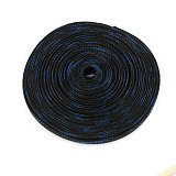 10M 10mm Wire Cable Sleeve Tight PET Nylon Braided  Sleeving Snakeskin Mesh Shock Expandable 150% Wire Gland Cable Protecting