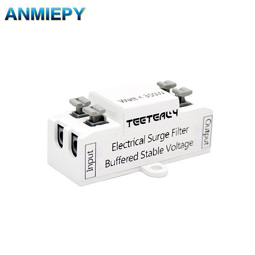 Electrical surge filter LED lamp buffered stable voltage 5000V Max 350W Extend the life of lamps and appliances