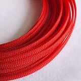 1-30M Cable Sleeves 3-40mm Red Snakeskin Mesh Wire Protecting Nylon Tight PET Expandable Insulation Sheathing Braided Sleeves