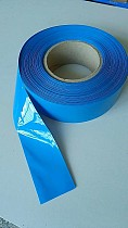 New high-quality 1m PVC heat shrink tube electronic insulation blue 80/85/95/180/200mm width is Lipo battery