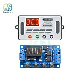 DDC-432 DC 12V 24V Dual MOS LED Digital Delay Controller Time Delay Relay Trigger Cycle Timer Delay Switch Timing Control Module