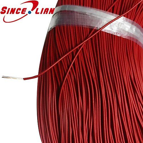 5M Repair DIY production using fine wires Thin wire copper core fine red black OD 1.3mm copper wire Thin copper wire