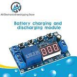DC 6-40V Battery Charger Module Discharger Board Undervoltage Overvoltage Protection Board Precision Auto Off Module Discharger