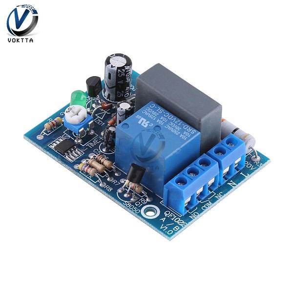 AC 220V Timer Relay Delay Switch Module Input/Output Delay Off Switch Adjustable 0-10Sec 10Min 10Hr 100Min Timing Turn Off Board