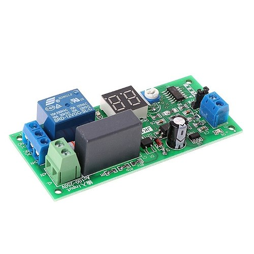 OOTDTY AC220V Delay Timer Switch Turn Off Board 0 Seconds-99 Minutes Delay Relay Module