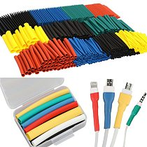 530PCS Shrinking Heat Shrink Tube Set Environmental Protection for iphone Cable protector usb cable wire organizer winder 530pcs