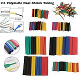 164pcs/Lot Set Polyolefin Shrinking Assorted Heat Shrink Tube Wire Cable Insulated Sleeving Tubing Set