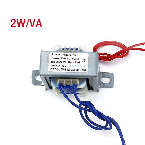 2W EI Output Voltage copper core Input 220V 380Vspot welder Power transformer step down  6V 9V 12V 15V 24V