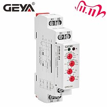 Free Shipping GEYA GRI8-04 Over Current and Under Current Protection Relay 0.05A 1A 2A 5A 8A 16A Current Monitoring Device