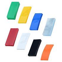 50/100PCS 72*18.5mm Li-ion 18650 Battery Wrap PVC Heat Shrink Tubing For Battery Film Tape Battery Cover Shrinking Tube