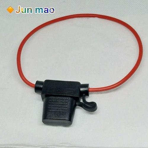 5PCS Waterproof Power Socket Medium Blade Type In Line Fuse Holders Fuse Car Replacement Fuses Car Fuse Socket