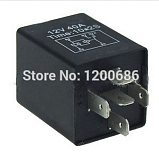 30A Automotive 12V Time Delay Relay SPDT 5S 10S 5 second/ 10seconds delay on relay would output after turn on the switch