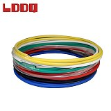 LDDQ 10m 3:1 Heat shrinkable tubing with glue adhesive Dia4.8mm Waterproof Wire wrap tube Heatshrink gaine thermo termoretractil