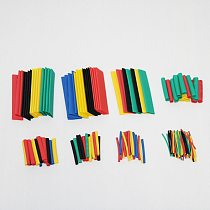 150/328/530Pcs Assortment Electronic Wrap Wire Cable Insulated Polyolefin Heat Shrink Tube Ratio Insulation Shrinkable Tubes