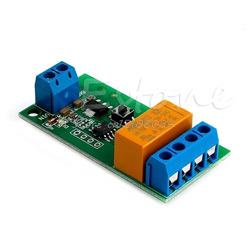 DC 5V~12V Motor Reverse Polarity Cyclic Switch Timer Time Repeater Delay Relay S08 Wholesale&DropShip