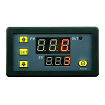 DC 12V Time Relay Module Digital LED Double Relay Display Timer Cycling 0-999s 0-999m 0-999h Adjustable Power Supplies Mayitr