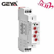Free Shipping GEYA GRT8-S Cycler Timer Relay 220V AC 16A  AC/DC12V-240V Electronic Repeat Relay Asymmetric Timer