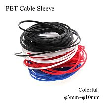 3mm 4mm 6mm 8mm 10mm PET Cable Sleeve Nylon Expandable Braided Sleeving Flexible Wire Insulation Wrap Sheathing Protection