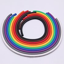 Cable marking label ec-0 cable marking number 0 to 9 cable size 1.5-6.0 SQMM mixed color PVC cable marking insulation marking